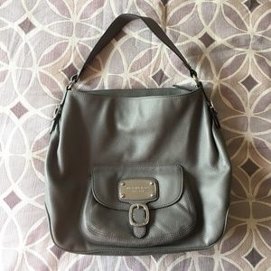Michael Kors Grey Shoulder Bag